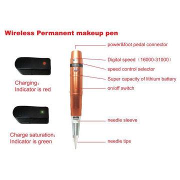 Перезаряжаемая перманентная ручка для макияжа и татуировки