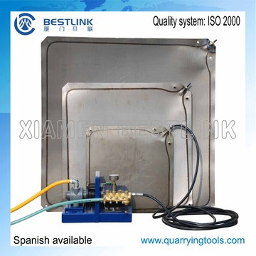 Block Pushing Steel Water Bag