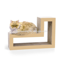 corrugated cardboard rolling cat scratcher toy