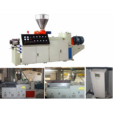 Conical Twin Screw Extruders/PVC CPVC Granular Machine/Plastic Extruder Machine