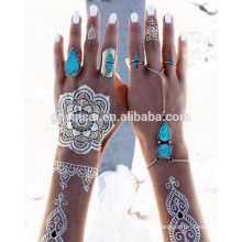 Customized temporary henna tattoos(mehndi design series)