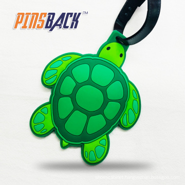 Custom Soft Silicone Rubber Letter PVC Golf Luggage Tag Travel Accessories Animal Cartoon Luggage Tags
