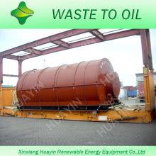 Machine en plastique réutilisée de capacité de 8T / 9T / 10T sans émission et gaz de fumée