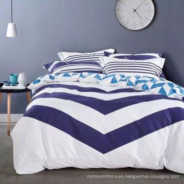 Cómoda tela de microfibra impermeable de ropa de cama