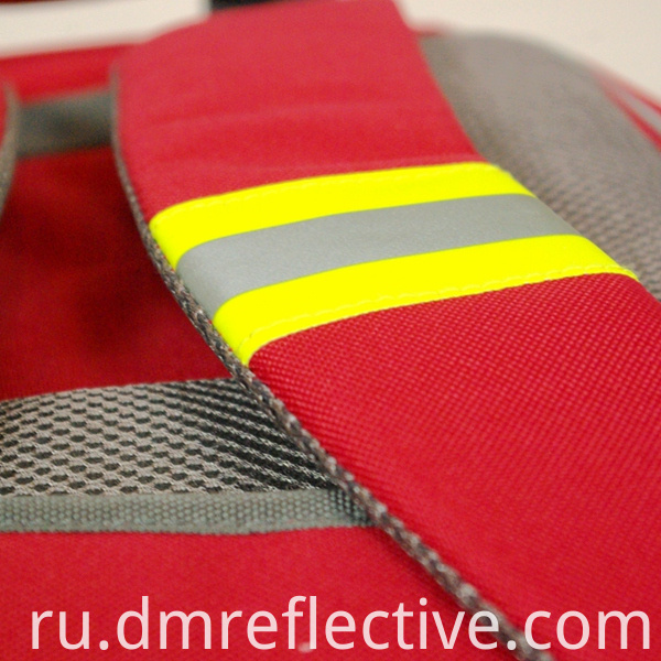 Cotton Flame Reflective Warning Tape