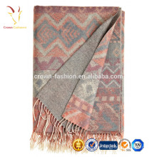 Cobertor de Malha para Caxemira Intarsia Kids Nepal