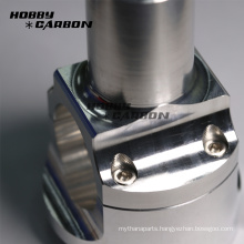 Custom made aluminum cnc turning parts motorcycle parts