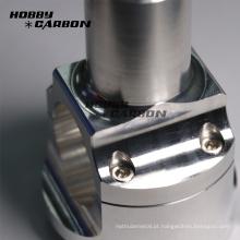 Peças de giro de alumínio feito-à-medida da motocicleta das peças do cnc
