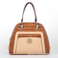 2014 Newest PU Fashion Crocodile Pattern Women Tote Bag (L130806)
