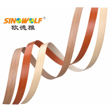 Accesorio de los muebles PVC / banda de borde del ABS para decorativo