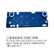 Composants de la carte à rouleaux