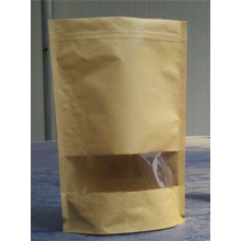 Food Packaging Professional Customized Stand up Kraft Paper Tea Bag, Manual Plastic Sealer for Tea Bag