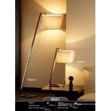 High Quality Polished Chrome Hotel Bedside Desk Lamp