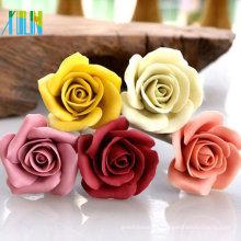 Granos de flor color de rosa de alta calidad de resina