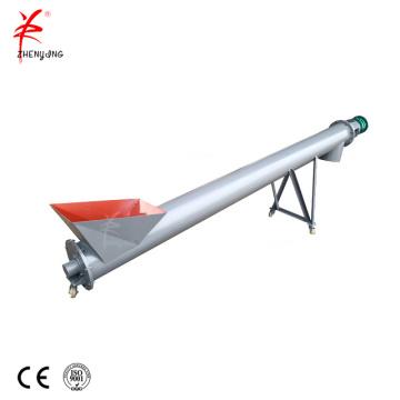 Modular TU tubular screw conveyor feeder machine