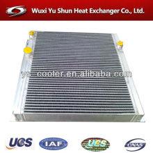 Enfriador de aceite del compresor de tornillo de aluminio de alto rendimiento
