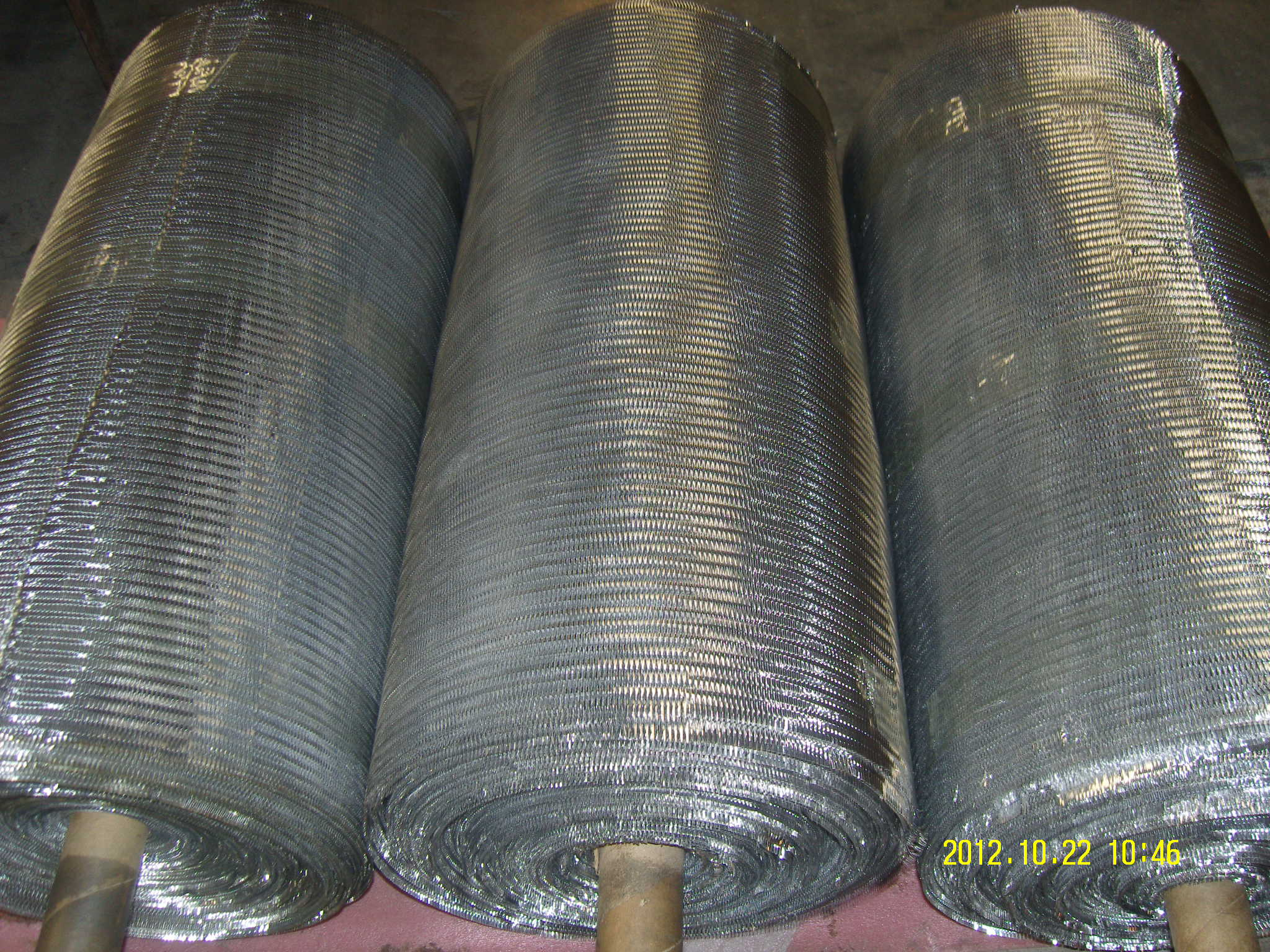 Expanded Aluminum Foil Mesh Roll