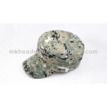 Moda barata Caminando la impresión de pico Cap militar militar