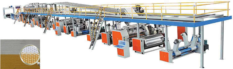 corrugated board production line