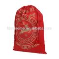 Sacs de bonbons de Noël de couleur rouge de Noël d'amusement emballant le sac de cadeau de Noël