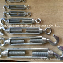 Commercial Mellable Turnbuckle, Steel Zinc Plated