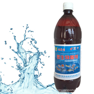 organic water treatment agent with plant extract for fishing