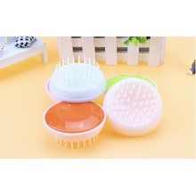 Plastic shower massage cleaning brush
