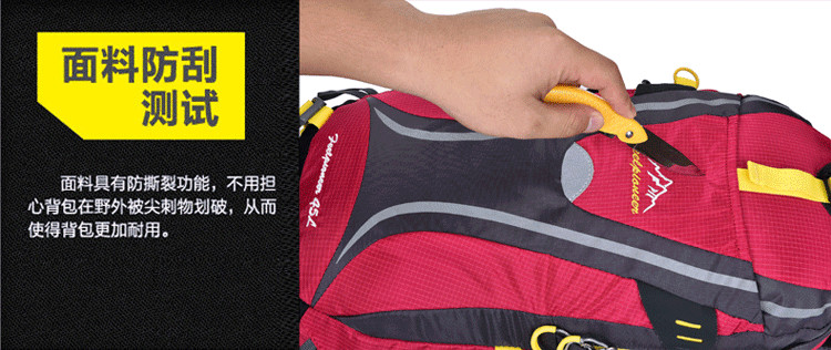 Mountaineering bag backpack