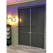 Matte Black & Grey Front Doors, Black & Grey Lacquer Doors