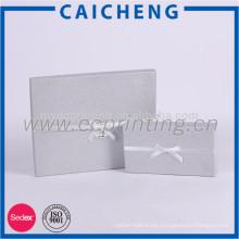 Cajas de regalo de corbata de lazo de embalaje impresa personalizado