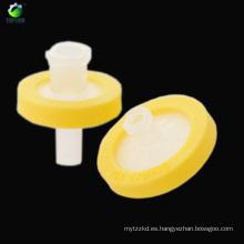 0.22um filtro de jeringa de inyección estéril