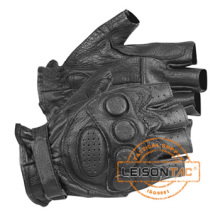 Police / Tactical Gloves Security Fingerless Glove with ISO Standard