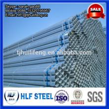 Un solide et économique tube d'acier galvanisé vit
