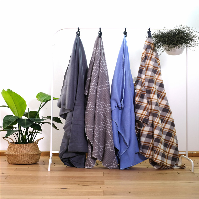 Soft Knit Microfiber Throws Bed Blanket