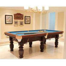 Medida diferentes plegable mesa de billar de 7 pies y 8 pies y 9 pies