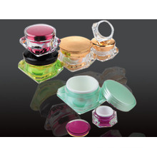 Jy207 50g Diamond Cosmetic Jar with Any Color