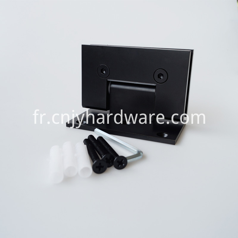 Black Glass Door Hinges
