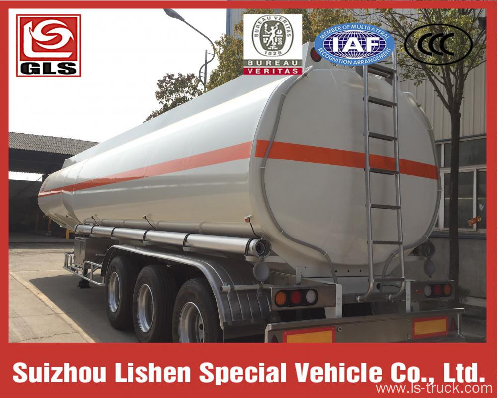 3 axles Methanol Methyl Alcohol Tank Semi-Trailer