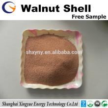 36mesh nussbaum shell korn nussbaum shell schleifmittel für Schmuck polieren