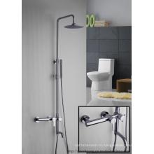 Вертикальный настенный ванной Смеситель для душа (мг-0539)