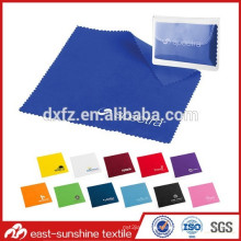 100%polyester microfiber cleaning fabric for eyeglasses