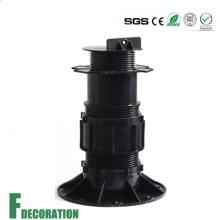 Pedestal ajustable de plástico de carga pesada para elevar el piso