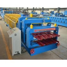 Double Layer IBR Roofing Sheet Making Machine