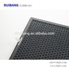 fabricación de aire purificar cartucho de filtro de aire de carbón activado