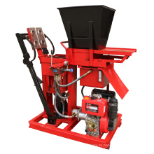 O motor diesel bateu o tijolo da terra do hydraform que faz o preço de peças do produto da máquina