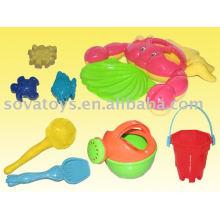 Areia de brinquedo, caranguejo de praia-907062864