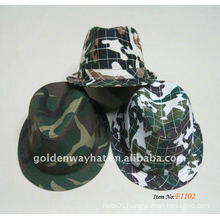 2012 Fashion Camouflage Fedora Hats