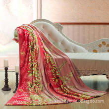 100% polyester low gsm 500g/600g cheap price flannel fleece blanket to indonesia