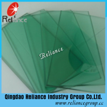 F-Green Color High Quality Tinted Glass Certify by SGS