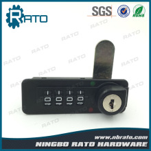 Digital Mailbox Combination Lock with Master Key